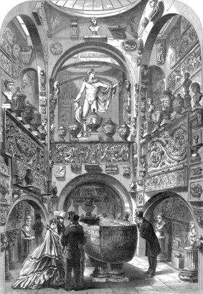 Soane, salle du sarcophage