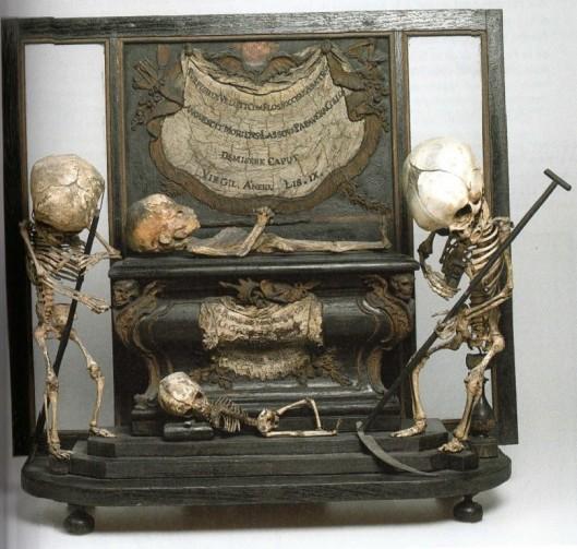 Anonyme, autel macabre, fin XVIIe siècle, ENSBA