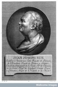 Portrait de Jean Joseph Sue, 1775. Wellcome Library, Londres