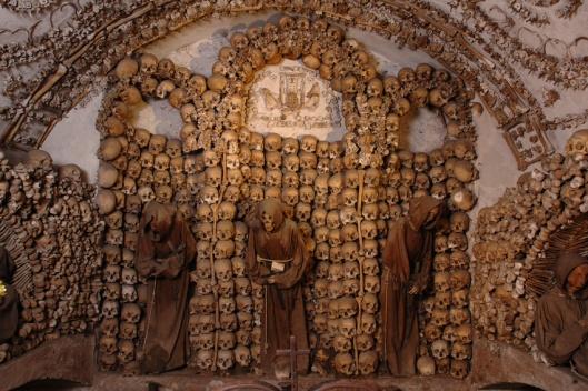 Cimetière capucin, Santa Maria della Concezione, Rome (photo ministère de l'Intérieur)