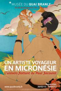 Affiche Paul Jacoulet Quai Branly