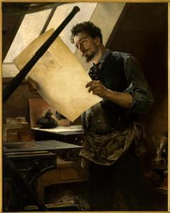 Félicien Rops, graveur, par Matheu Paul, Versailles