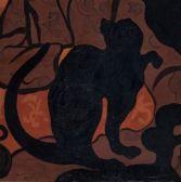 Ranson, La Sorcière au chat, 1893, Paris, Musée d'Orsay, photo RMN2 - Copie