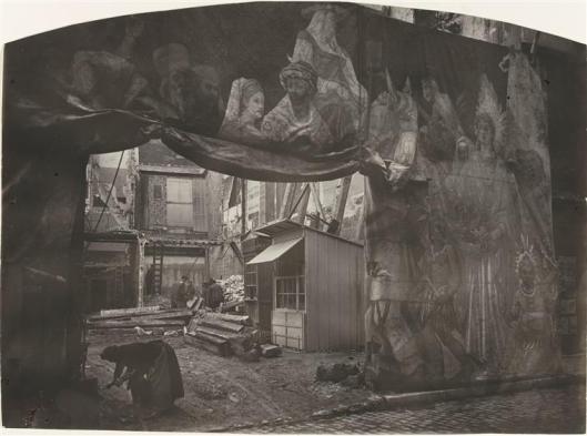 Thiollier, Décor de fête ou de foire, Saint-Etienne(?), 1890 et 1910, Paris, musée d'Orsay/photoRMN