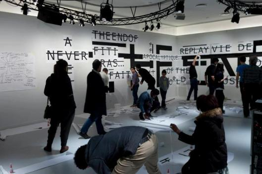 Lancement d'Ex-Situ au Centre Pompidou, Photos H. Véronèse