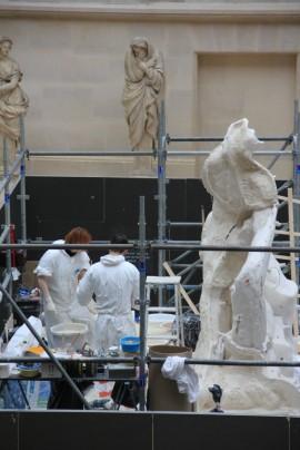Moulage du Milon de Crotone  Louvre 3