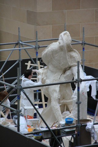 Moulage du Milon de Crotone au Louvre 2