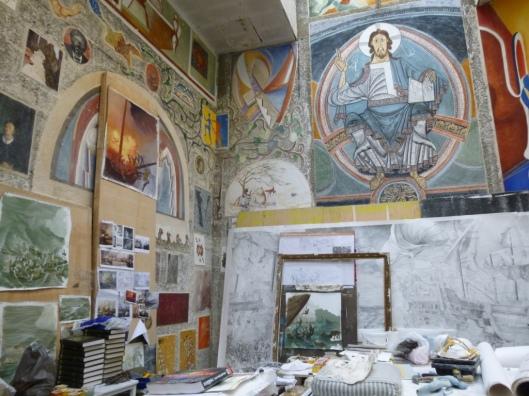 atelier fresque Ecole Beaux-Arts Bennequin (2)