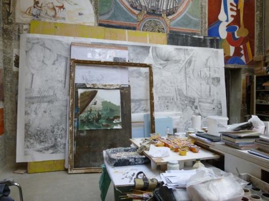 atelier fresque Ecole Beaux-Arts Bennequin (4)