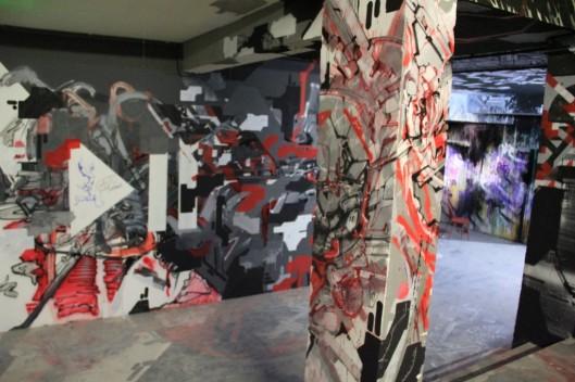 Entrailles Palais Tokyo graffiti Lek Sowat Dem189 (1)