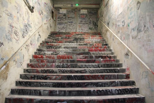 Entrailles Palais Tokyo graffiti Lek Sowat Dem189 (10)
