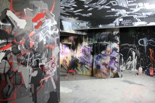 Entrailles Palais Tokyo graffiti Lek Sowat Dem189 (3)
