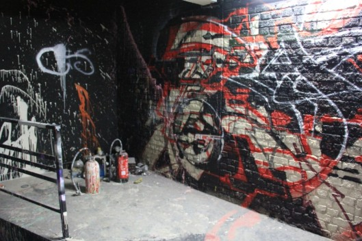 Entrailles Palais Tokyo graffiti Lek Sowat Dem189 (4)
