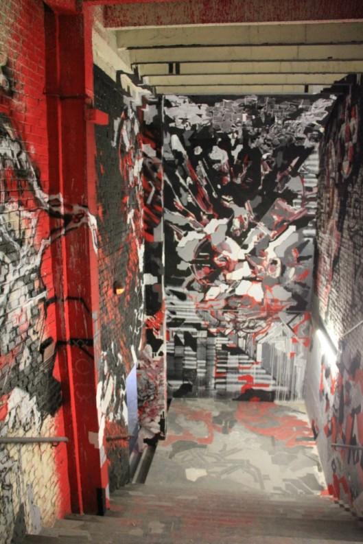 Entrailles Palais Tokyo graffiti Lek Sowat Dem189 (6)