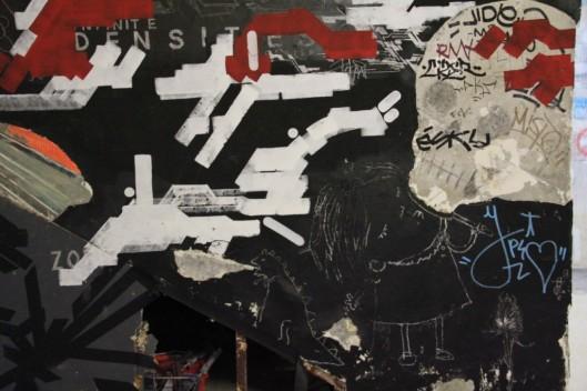 Entrailles Palais Tokyo graffiti Lek Sowat Dem189 (8)