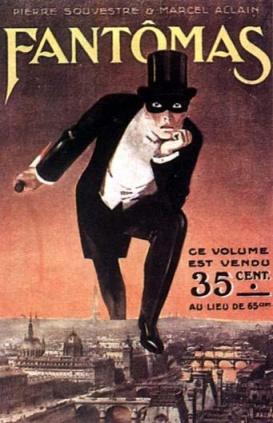 Couverture de Fantomas 1911