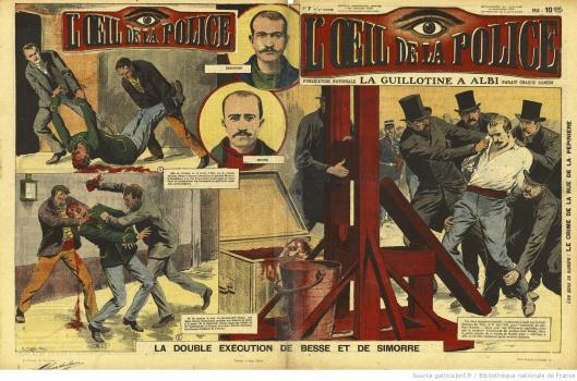 Oeil de la police, n°2, 1909, Gallica/BnF