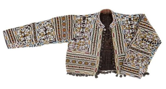 Veste Bagobo, coton et perles de verre, XXe siècle, Musée du Quai Branly