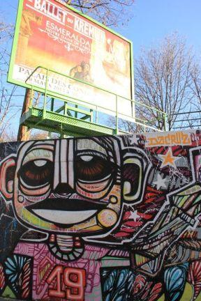 Rue de l'Ourcq (décembre 2012)
