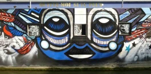 Péniche du Canal de l'Ourcq, juillet 2013