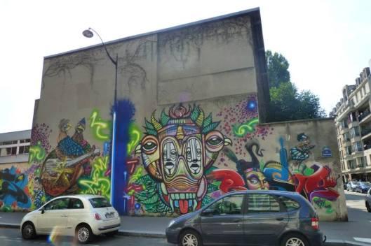Rue Germaine Tailleferre, juillet 2013, photographie Anne-Marie Richard