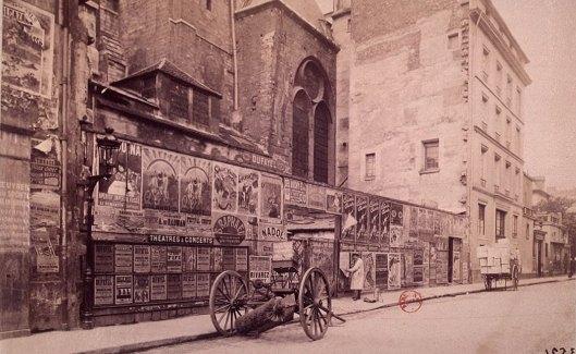 Atget, Rue de l'abbaye : Saint-Germain des Prés, 1898, Gallica/BnF