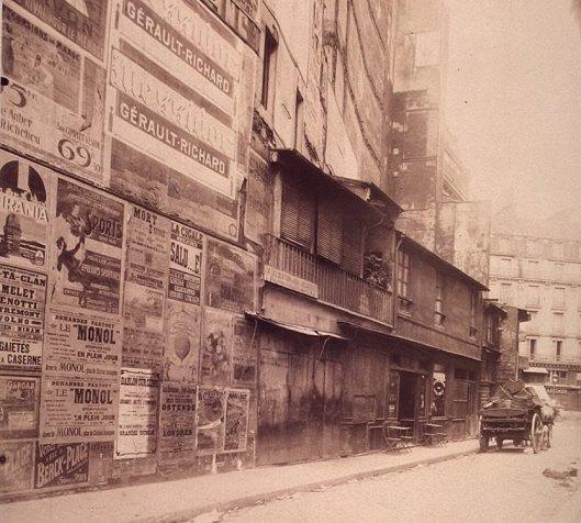 Atget, Rue de la Réale, 1909, Gallica/BnF