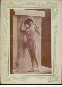 Extrait de la revue  En scène. Panorama théâtral..., 1903, BnF/Gallica