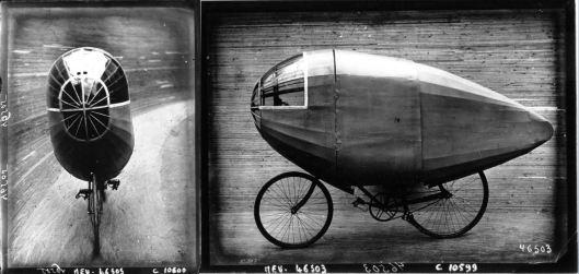Agence Meurisse, le vélo-torpille de M. Buneau-Varilla, 1913