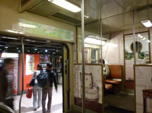 RER C Versailles chambre Reine