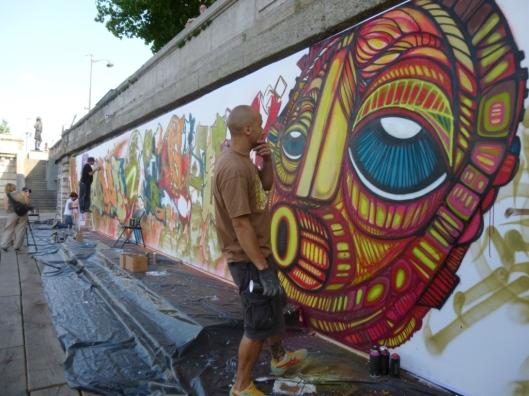 Da Cruz, quinzaine du hip-hop, Paris, berges de Seine, 5 juillet 2013
