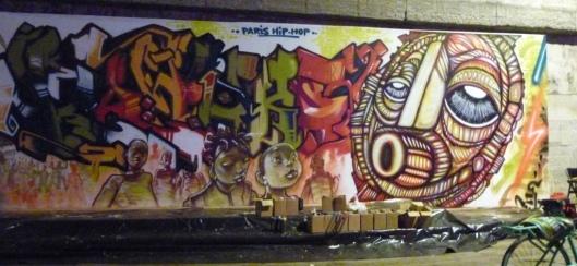 Fresque Paris Hip-Hop, 5 juillet 2013