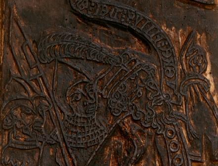 Bois Protat, bois gravé, vers 1400, BnF