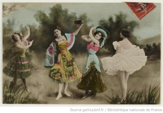Carte postale montage, gallica