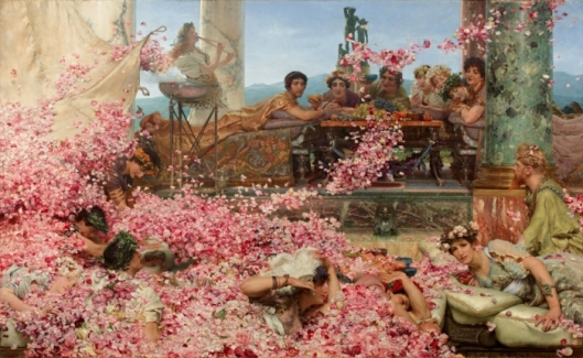 Alma-Tadema, Les roses d'Héliogabale, 1888