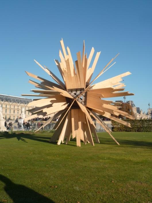 Vincent Mauger, La Somme des hypothèses, FIAC hors-les-murs, jardin des Tuileries, 2011