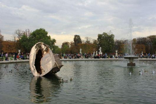 Marc Quinn, The Origin of the World, FIAC hors-les-murs, Jardin des Tuileries, 2012