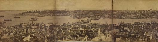 Pascal Sebah, Panorama de Constantinople pris de la tour de Galata, 1875, INHA