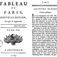 Faire caca à Paris au XVIIIe siècle... pas évident!