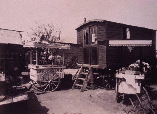 Atget, porte de Montreuil, 1913, Gallica