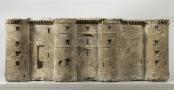 Modèle réduit de la Bastille, réalisé dans un bloc provenant de la forteresse, sous la direction de Palloy, 1789, Musée Carnavalet