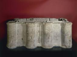 Modèle réduit de la Bastille, exécutée dans un bloc provenant de la Bastille, 1789, Musée Carnavalet