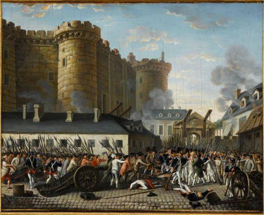 Anonyme, Prise de la Bastille et arrestation du gouverneur M. de Launay, le 14 juillet 1789, château de Versailles