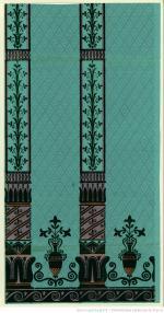 Jacquemart et Bénard, papier à motif répétitif, 1800