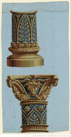Manufacture J. Zuber et Cie, Eléments d'architecture colonne, 1802