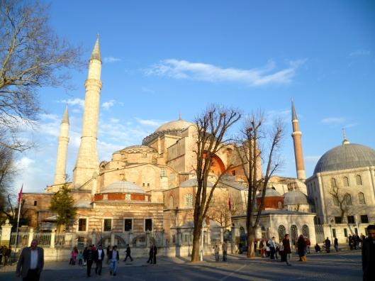 Istanbul_Sainte_Sophie_Hiver