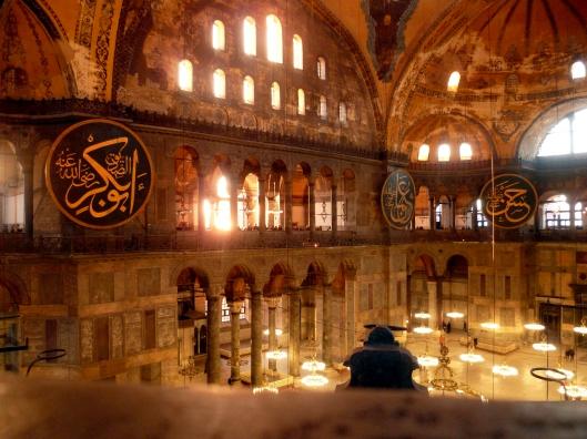 Istanbul_Sainte_Sophie_Interieur_Hiver