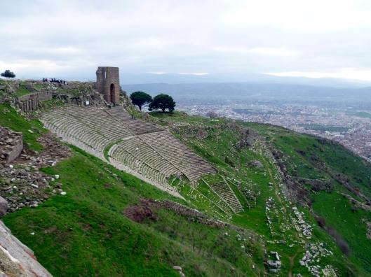 L'amphithéâtre de Pergame, hiver 2010