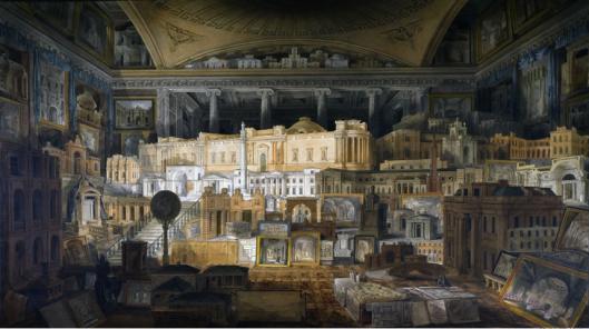 Gandy, Soane's Public and Private Buildings, 1820, Sir John Soane's Musem