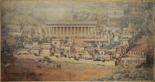 Tournaire, sanctuaire Apollon Delphes, 1894
